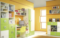 Barevný dětský pokoj Liana 4 vhodný i pro studenty