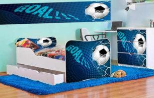 Dětský pokoj pro malého fotbalistu