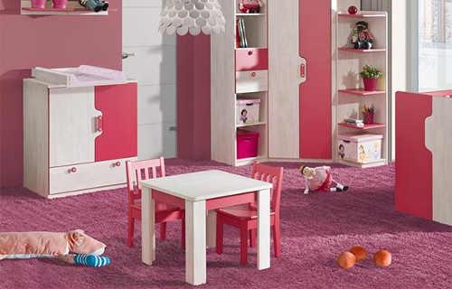 Dětský pokoj pro nejmenší s postýlkou Noly 6