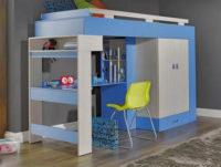Dětský pokoj s vyvýšenou postelí Adéla 4