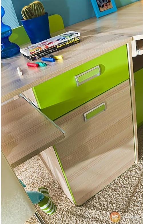 Dětský psací stůl jasan