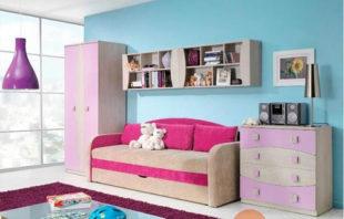 Levný dětský pokoj Tereza 12 s mnoha úložnými prostory