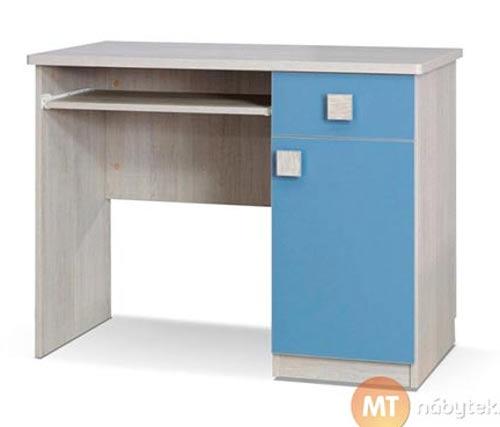 Modrý psací stůl pro kluka