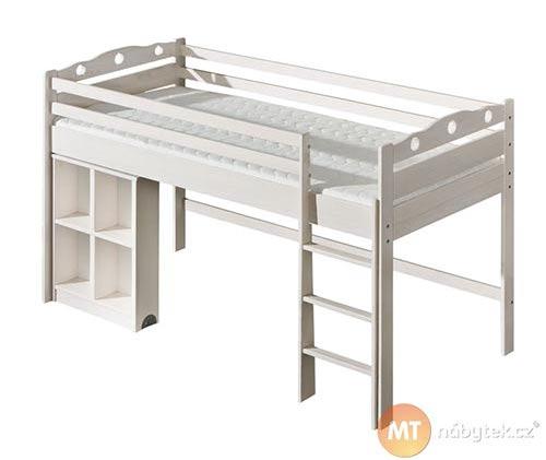 Patrová postel s výsuvným pultem