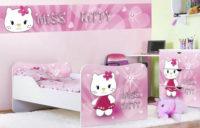 Růžový dětský pokoj pro holky Miss Kitty