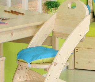 Pohodlný sedák na dětskou židli