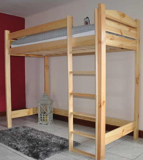 Dětská patrová postel z borovice