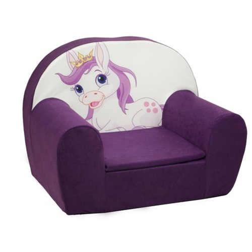 Dětské křeslo Unicorn do pokojíčku