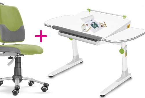 Dětský rostoucí set - židle a psací stůl