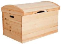 Dřevěná komoda na lůžkoviny či jiné využití