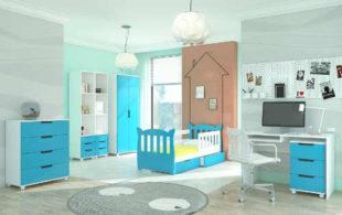 Moderní sestava nábytku do dětského pokoje