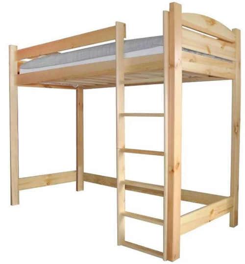 Patrová postel vhodná i do malého prostoru