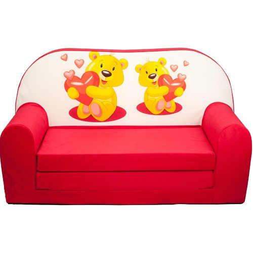 Pěkná dětská sedačka s roztomilým obrázkem