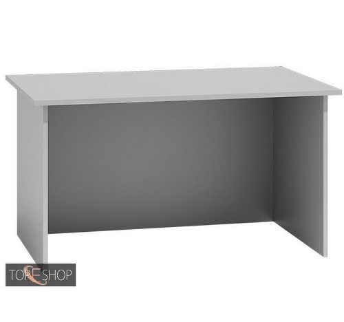 Psací stůl v jednoduchém provedení v bílé barvě