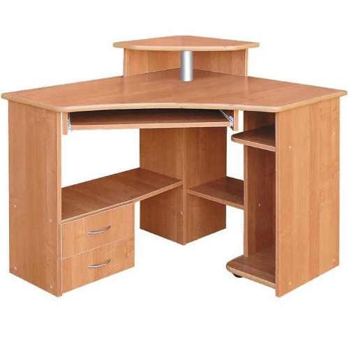 Rohový psací stůl pro školáka i studenta