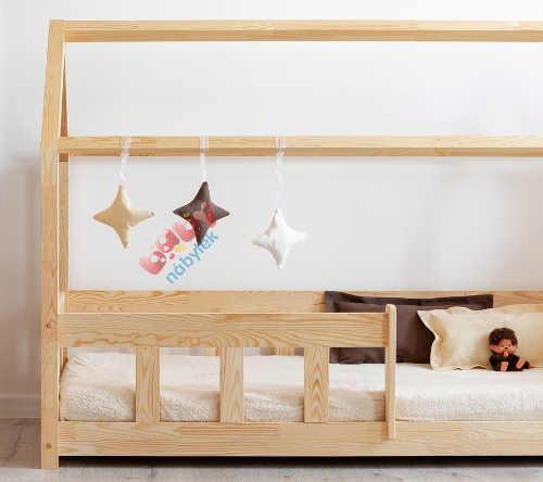 Dětská postel domeček se střechou