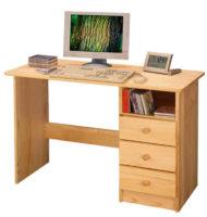 Lakovaný PC stůl z masivní borovice