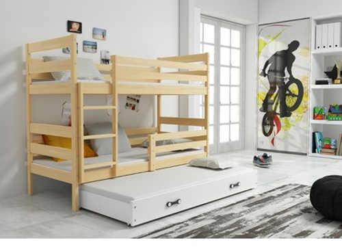 patrova-postel-s-vysuvnym-lupatrová postel s výsuvným lůžkem v moderním provedení