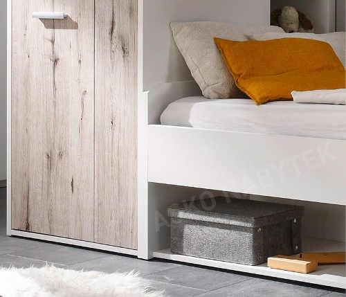 Praktická multifunkční sestava nábytku do dětského pokoje