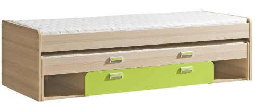 Univerzální dětská postel s přistýlkou Loreto L16