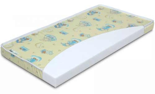 Dětská matrace s rozměry 70x140x8 cm s bavlněným potahem