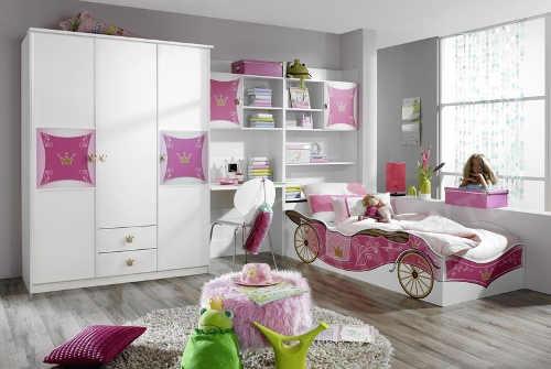Inspirativní dětský pokoj pro holčičku
