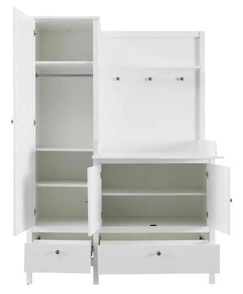 Bílý nábytek pro nejmenší