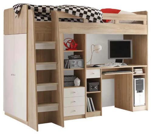 Multifunkční postel pro děti a mládež