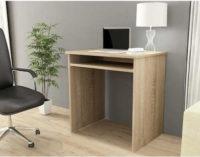 Počítačový stůl v moderním dekoru dub sonoma