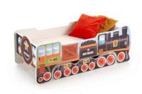 Postel lokomotiva s matrací