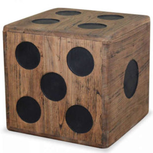 Úložný box v designu hrací kostky