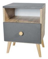 Designový noční stolek na nožičkách