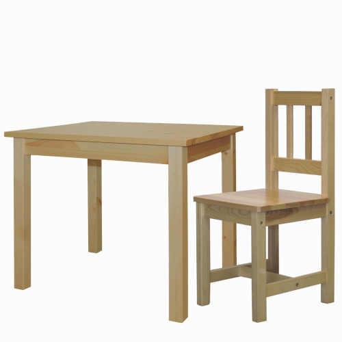 jídelní stůl z dřevěného materiálu