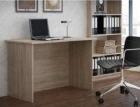 Levný a jednoduchý psací stůl dub sonoma