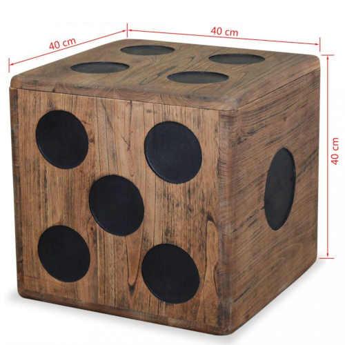 praktický úložný dřevěný box