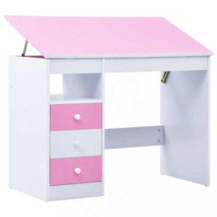 Psací stůl s praktickou náklopnou deskou