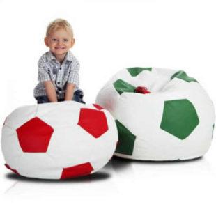 Sedací vak v provedení fotbalového míče