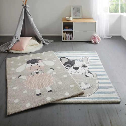 koberec s ovečkou do dětského pokoje
