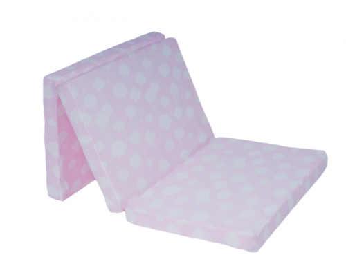 praktická skládací dětská matrace