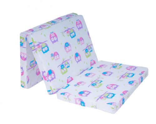 skládací kvalitní matrace s bavlněným potahem