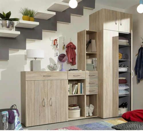 skříň do pokoje v dekoru dub