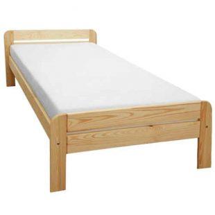 Jednolůžková postel z masivu