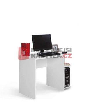 Praktický psací stůl v bílém provedení