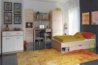 Studentský pokoj ve dvou variantách dekoru