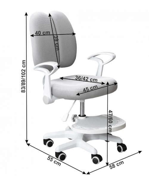 kvalitní rostoucí dětská židle