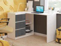 Počítačový stůl s úložným prostorem