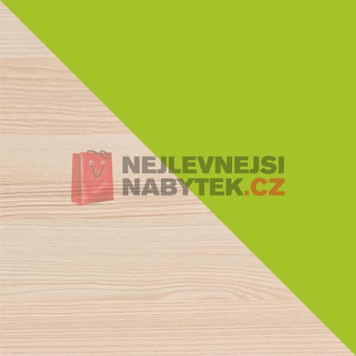 dřevěný regál lorento jasan-limetka