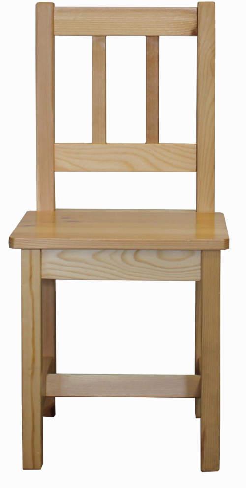 Levná dětská židle z masivu