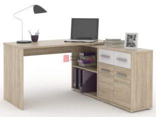 Levný rohový psací stůl dub sonoma