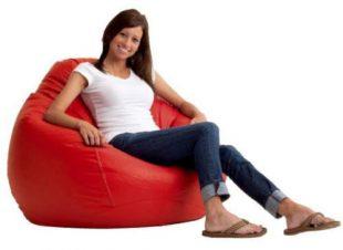 Pohodlný sedací pytel Gleo 250 L